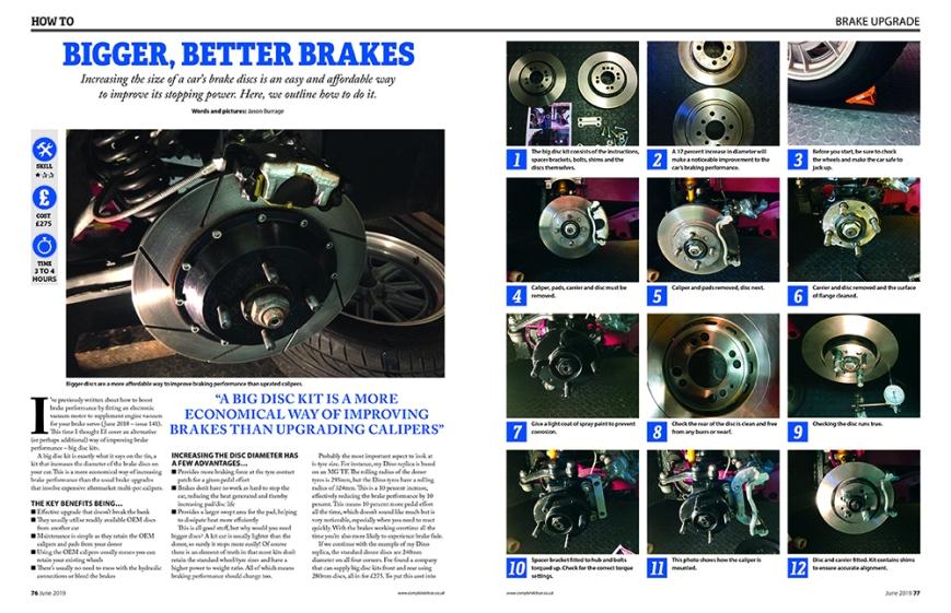076 Brake conversion