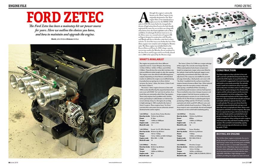 086 Ford Zetec Engine Profile